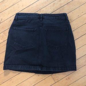 Kendall & Kylie Skirts - Kendall & Kylie black skirt